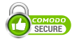 Comodo is our SSL security provider. This site is Trusted SSL SECURED.